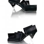 Black Folded Shoes