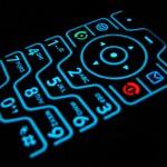 Motorola RAZR keypad lasercut