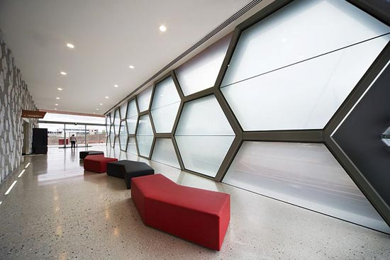 Hexagons honeycombs awol trends Architecture interior design