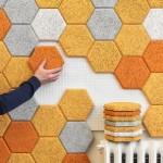 Träullit Dekor Hexagon by FORM US WITH LOVE