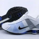 2011 fashion nike shox r4 new sneakers blue black white
