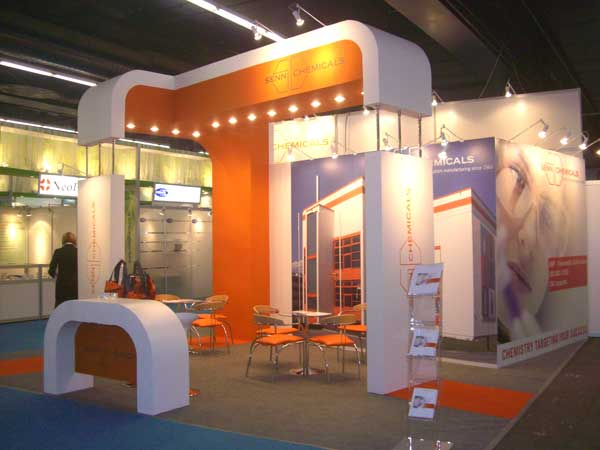 Exhibition Stand Design Trends : O c orange awol trends